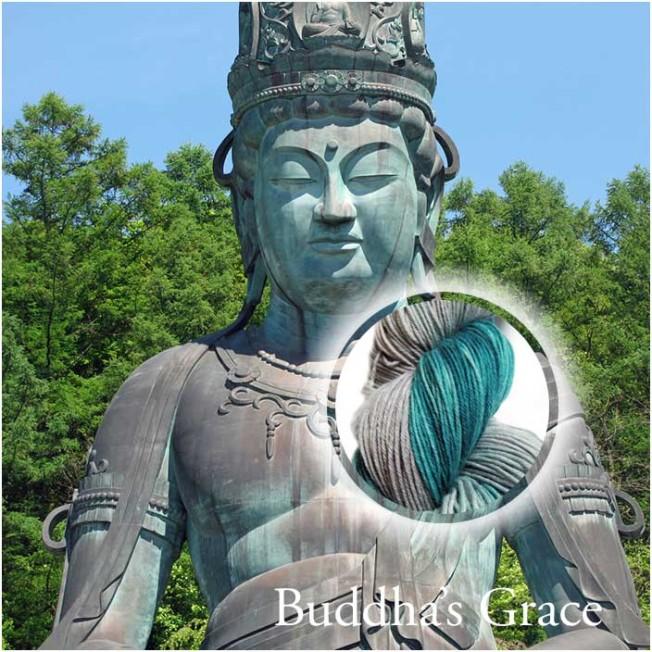 Buddha's Grace Hand Dyed Yarn Álainn Yarns