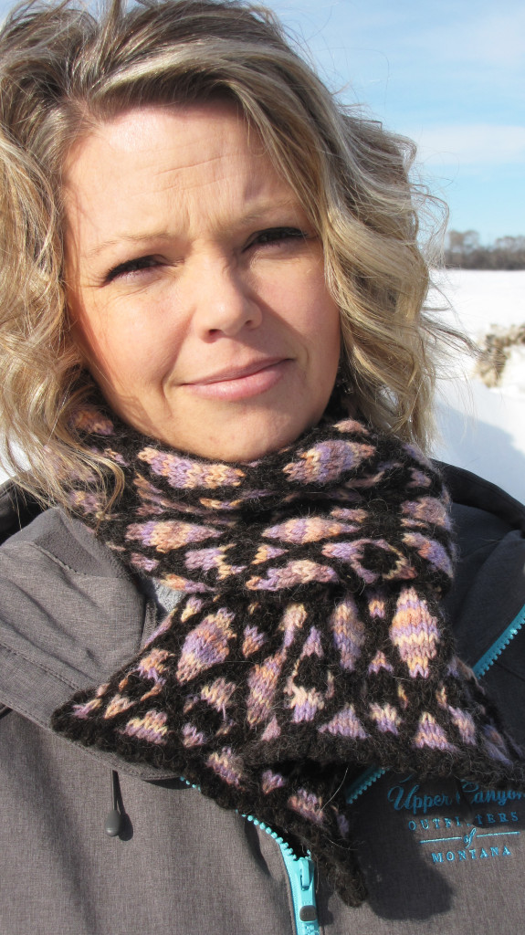 A New Scarf Pattern Design